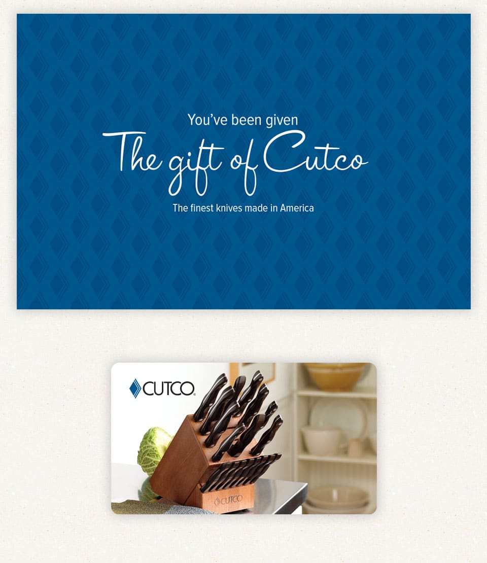 Cutco is a great example of a business that knows B2B vs. B2C